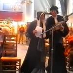 Egbert en Barbara als Jacob en Anna